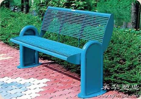 钢结构公园椅
