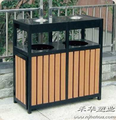 南京木制垃圾桶,不锈钢垃圾桶