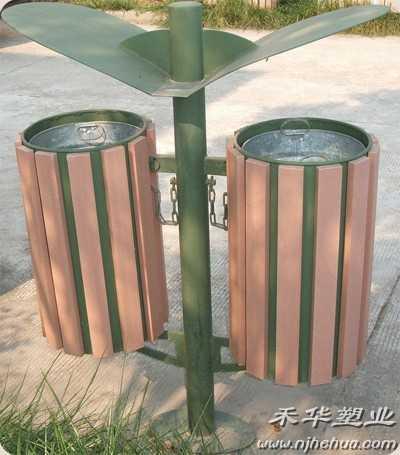 湖南省长沙市金属垃圾桶